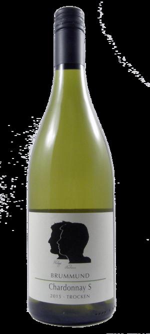 Flasche Chardonnay S der Weinmanufaktur Brummund