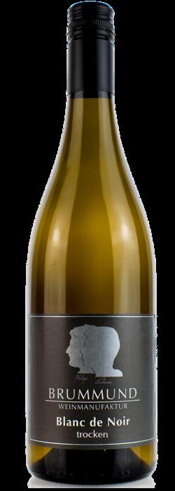 Weinflasche Blanc de Noir der Weinmanufaktur Brummund