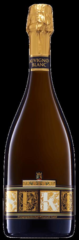 Flasche Sauvignon Blanc Sekt