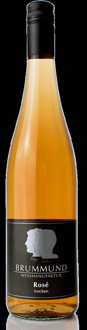 Weinflasche Rosé der Weinmanufaktur Brummund