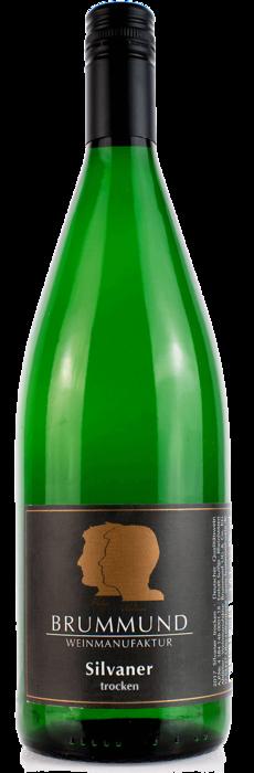 Ein-Liter-Weinflasche Silvaner der Weinmanufaktur Brummund