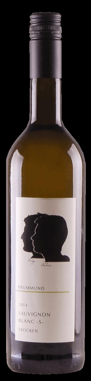 Flasche Sauvignon Blanc S der Weinmanufaktur Brummund